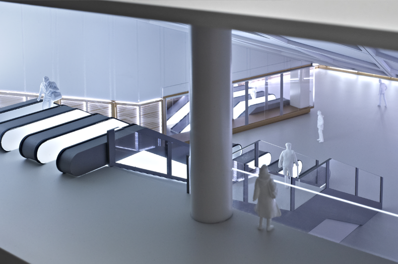 Farringdon Station - 3D Model